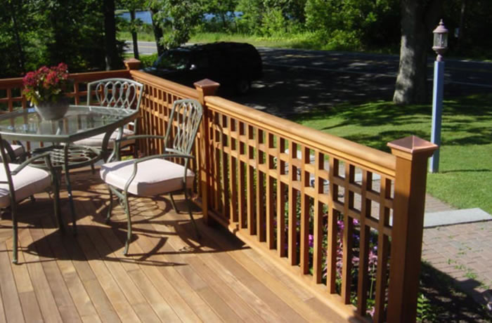 Woodway® Posts, Caps & Lattice - Coastal Forest Products