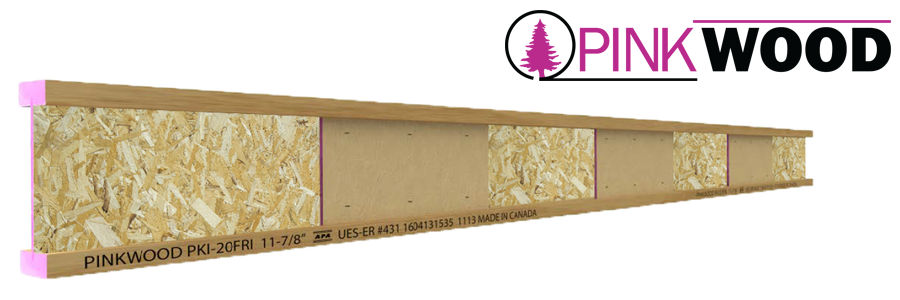 PinkWood Fire Rated I-joists