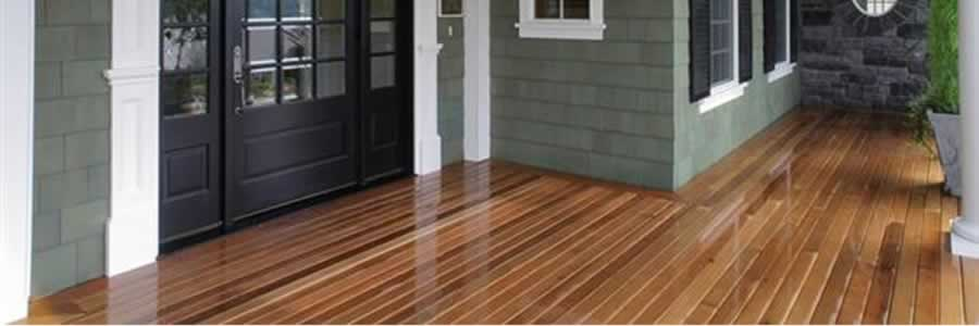 Western Red Cedar Decking & Railing