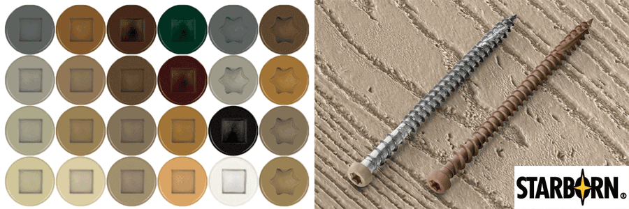Starborn Screws Amp Fasteners Coastal Forest Products