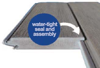 Coastal SpaceMaker Water Tight Seal